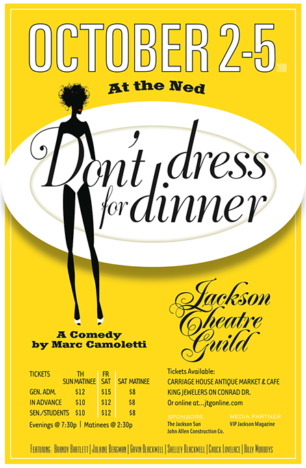 a theme analysis on dont dress for dinner Scroll down page to read murder mystery dinner themes: in terms of costumes or dress codes: dinner guests don't want to see cheesy.